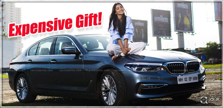 PoojaHegde-latest-photo-car-details
