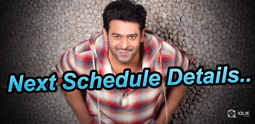 prabhas-20-th-movie-2nd-schedule-details