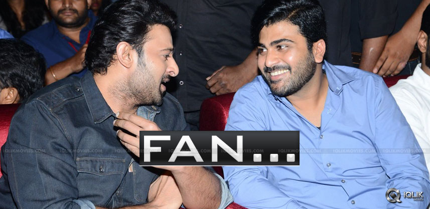Prabhas Is A Fan Of This Hero
