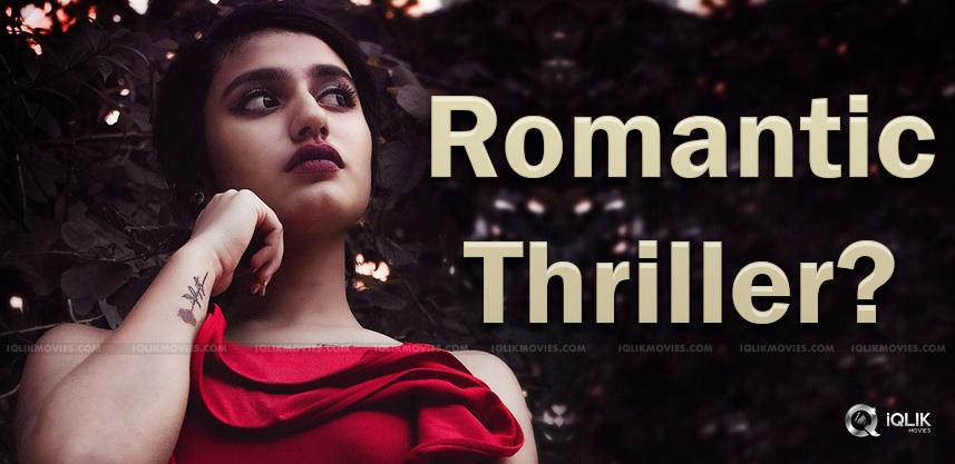 Priya-Prakash-Varrier-in-a-romanic-thriller