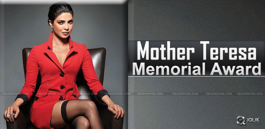 priyanka-chopra-mohter-theresa-award-