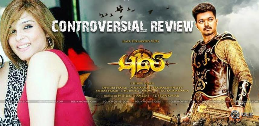 kiaara-sandhu-review-on-viajy-puli-movie