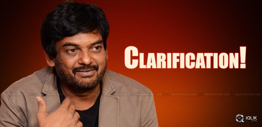 puri-jagannadh-clarified-about-chiranjeevi-film