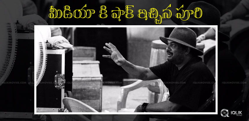 puri-jagannadh-shock-to-media-with-ism-title