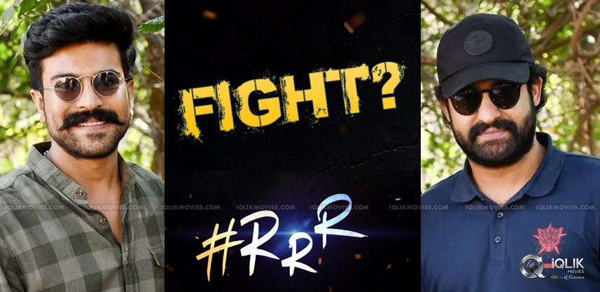 Big-Fight-Between-Charan-amp-NTR-In-RRR