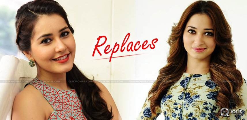 raashi-khanna-replaces-tamannaah-in-ram-film