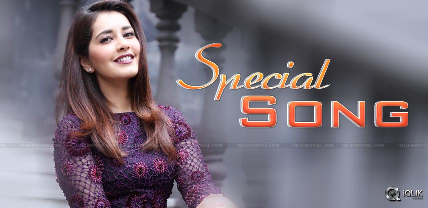 rashi-khanna-special-song-details