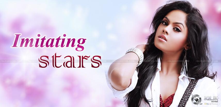 radha-daughter-karthika-to-imitate-star-hero-dance