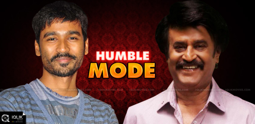 rajinikanth-and-dhanush-humble-nature-revealed