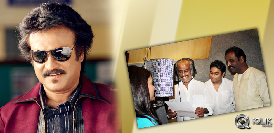 Rajinikanth-makes-his-debut-as-singer-in-Hindi