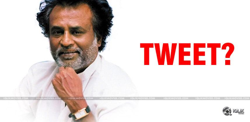 superstar-rajnikanth-latest-tweet