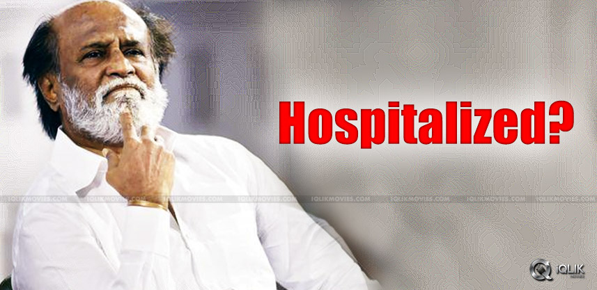 speculations-over-rajnikanth-hospitalized-in-usa