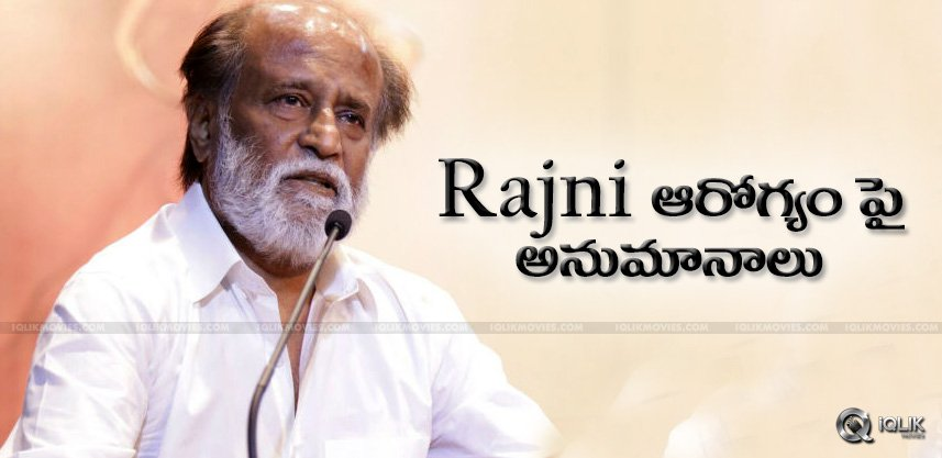 discussions-over-rajnikanth-health