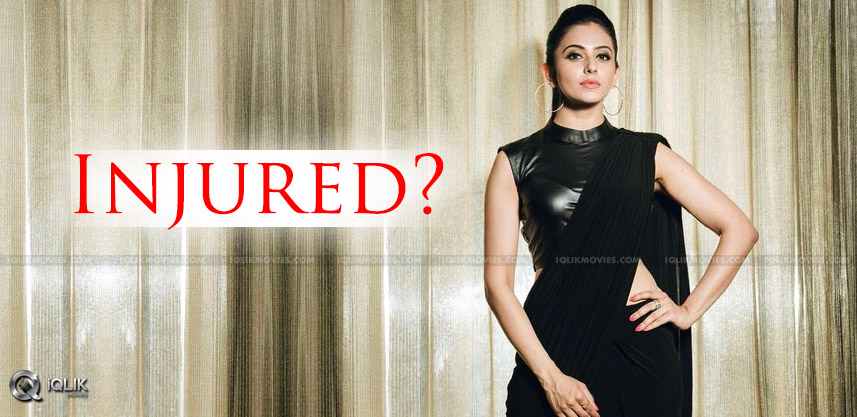 rakul-preet-singh-injured-at-airport