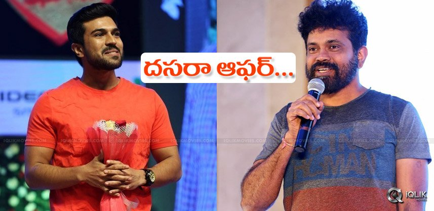 ramcharan-sukumar-film-starts-on-dussehra