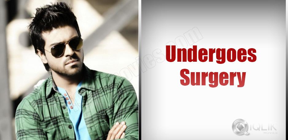 Ram-Charan-undergoes-Sinus-operation