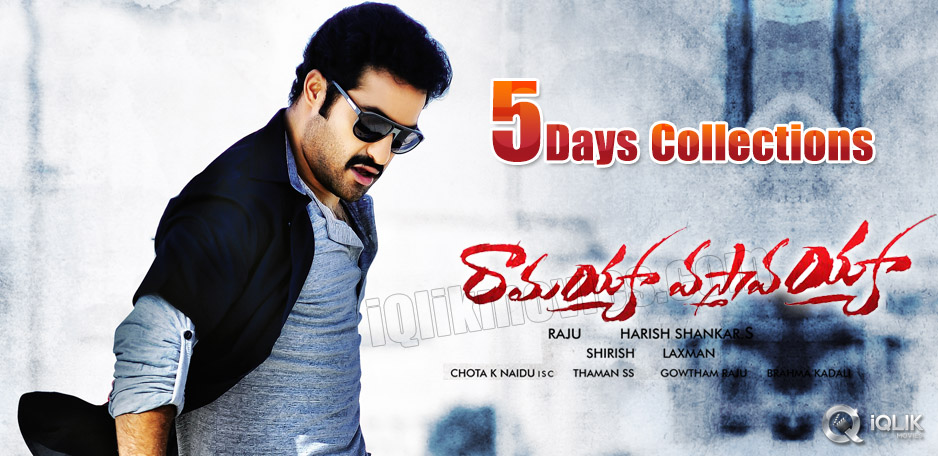 Ramayya-Vastavayya-5-days-Collections