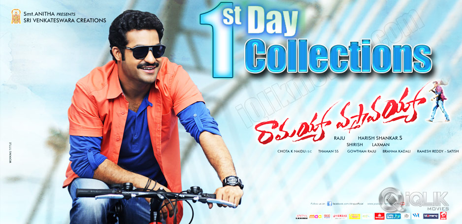 Ramayya-Vastavayya-First-Day-Collections
