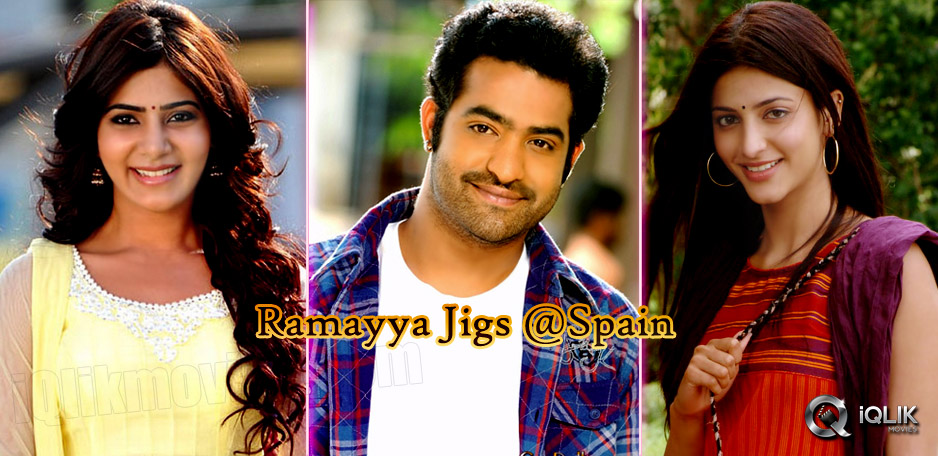 Ramayya-has-begun-Spain-Schedule
