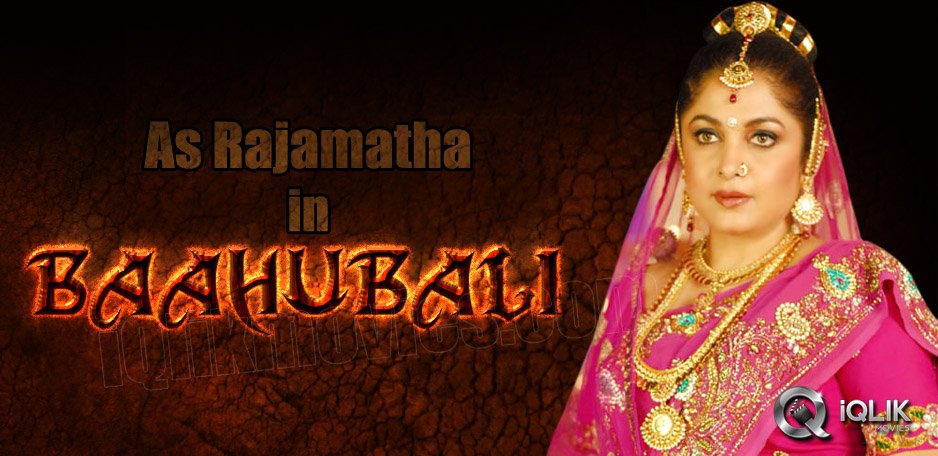 Ramya-Krishna-to-play-Rajamatha-in-Baahubali
