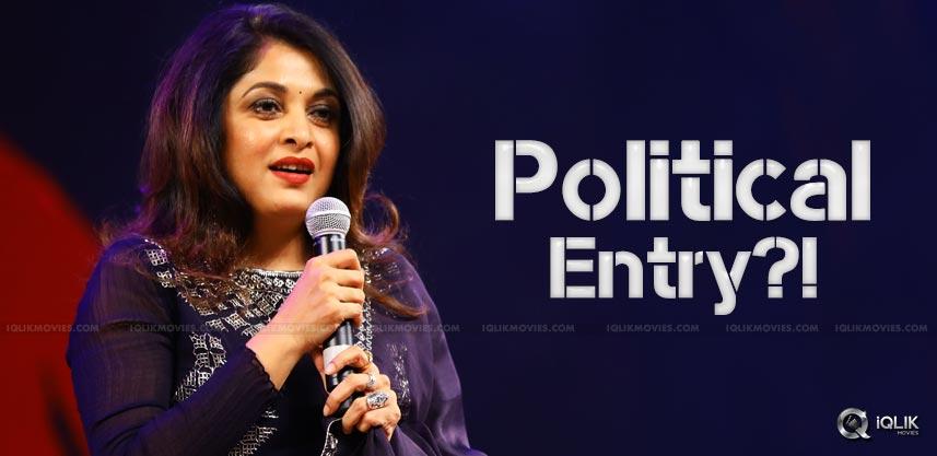 ramyakrishnan-to-enter-into-politics-details