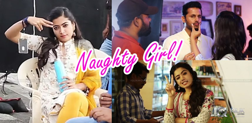 Naughtiest Rashmika, \'Making\' Queen!