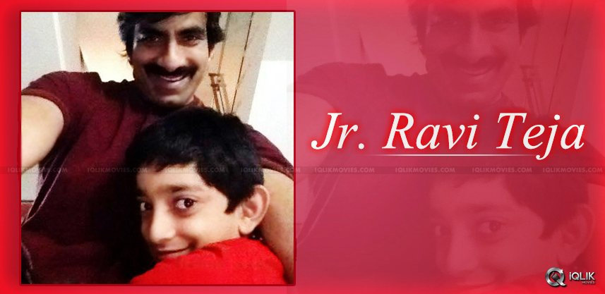 ravi-teja-shared-his-son-Makshada-photo