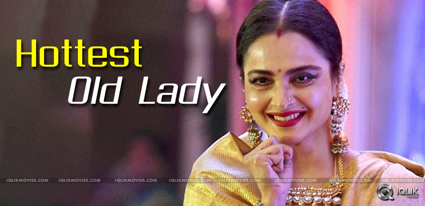 Rekha-Hottest-Old-Lady-In-India-