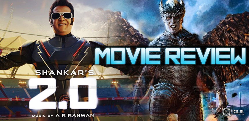 '2.0' TELUGU MOVIE REVIEW & RATING