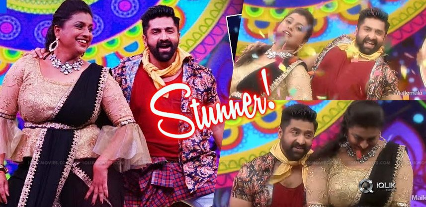 roja-dance-etv-pandaga-sir-pandaga-anthe