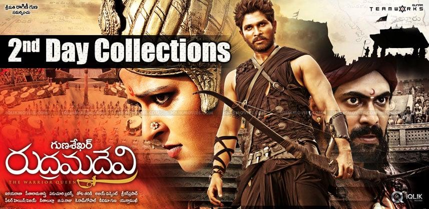 anushka-rudramadevi-2nd-day-collection-estimates