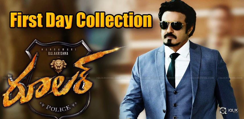 First-Day-Collection-Of-Balayya039-s-Ruler