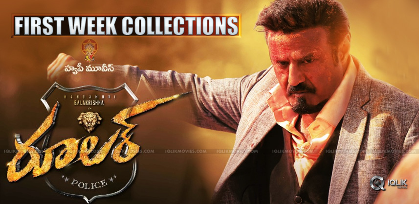 First-Week-Collections-Of-Balakrishna039-s-Ruler