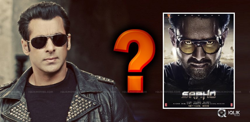 Salman Khan Acting In Saaho?
