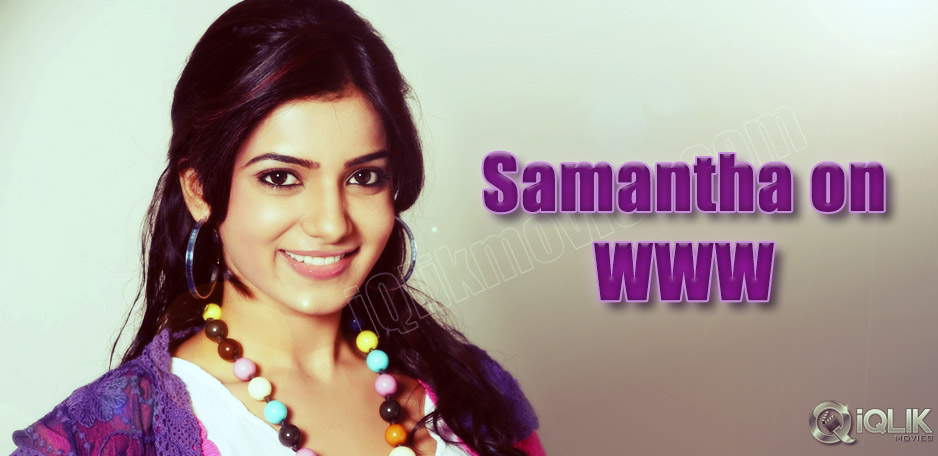 Samantha-to-launch-her-official-website