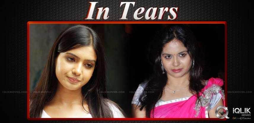 samantha-and-sunitha-on-na-bangaru-thalli-movie