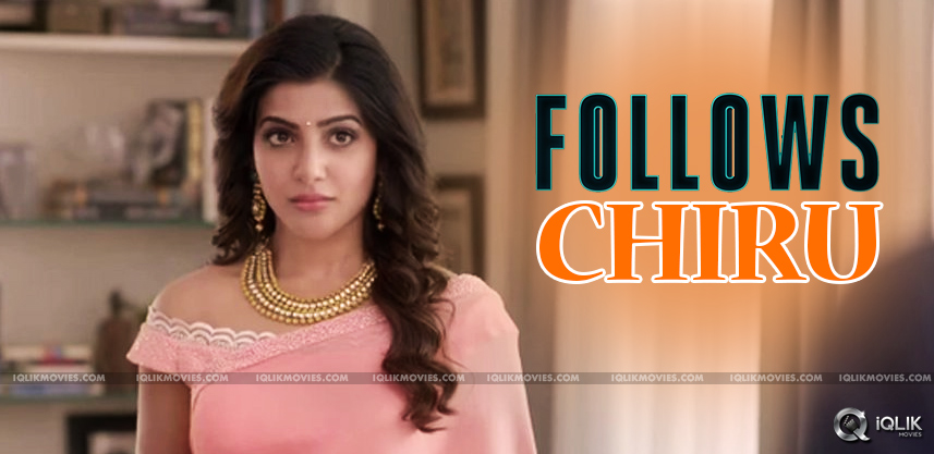 samantha-foundations-follows-chiranjeevi-trust