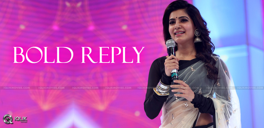 actress-samantha-bold-reply-in-twitter