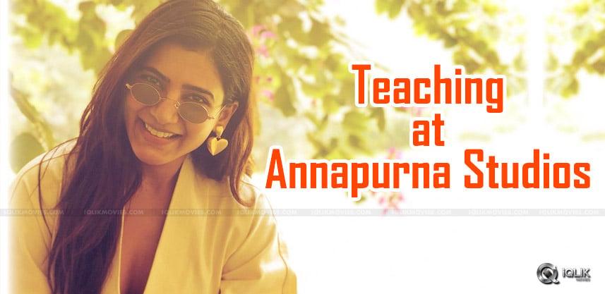 samantha-to-teach-in-annapurna-studio