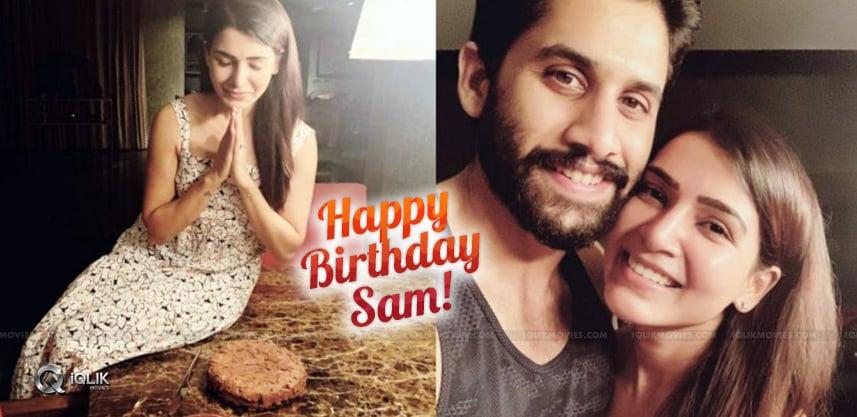 Chai-Bakes-Cake-for-Samantha-BirthDay
