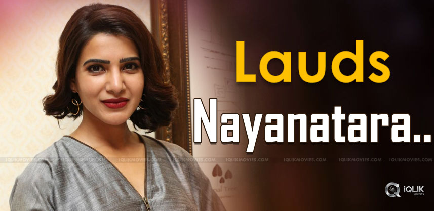 top-heroine-praises-nayanatara-details-