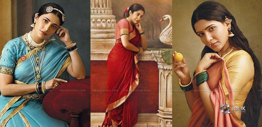 Ravi-Varmas-Magic-Samantha-amp-Shruthi-Kirrak