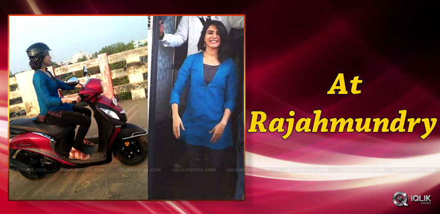 samantha-shoots-for-u-turn-remake-rajahmundry