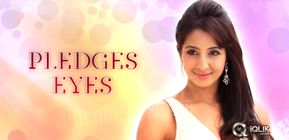 Actress-Sanjjanaa-pledges-her-eyes