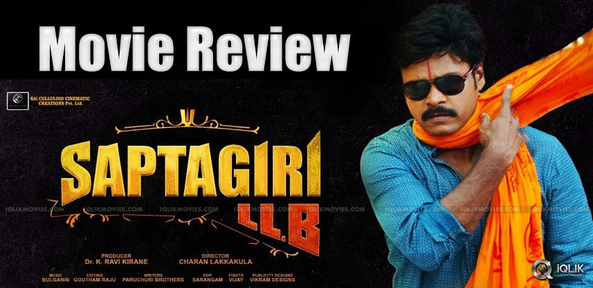 Saptagiri LLB Movie Review & Ratings