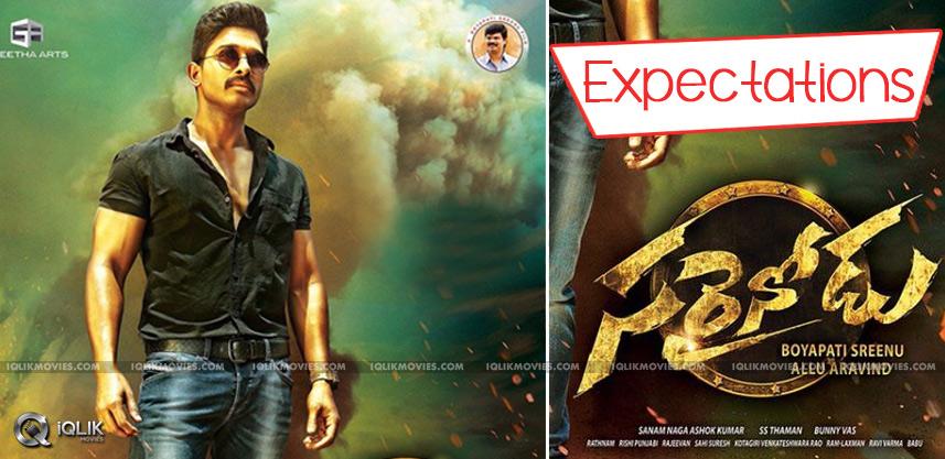 expectations-on-allu-arjun-sarrainodu-movie