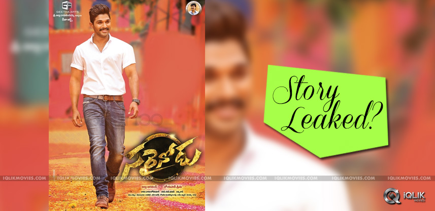 speculations-on-sarrainodu-story-leak-details