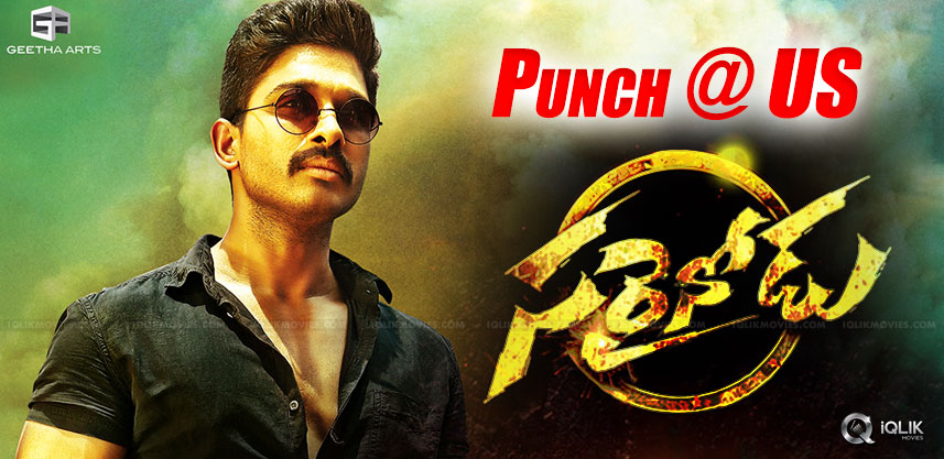 sarrainodu-first-day-collections-in-us