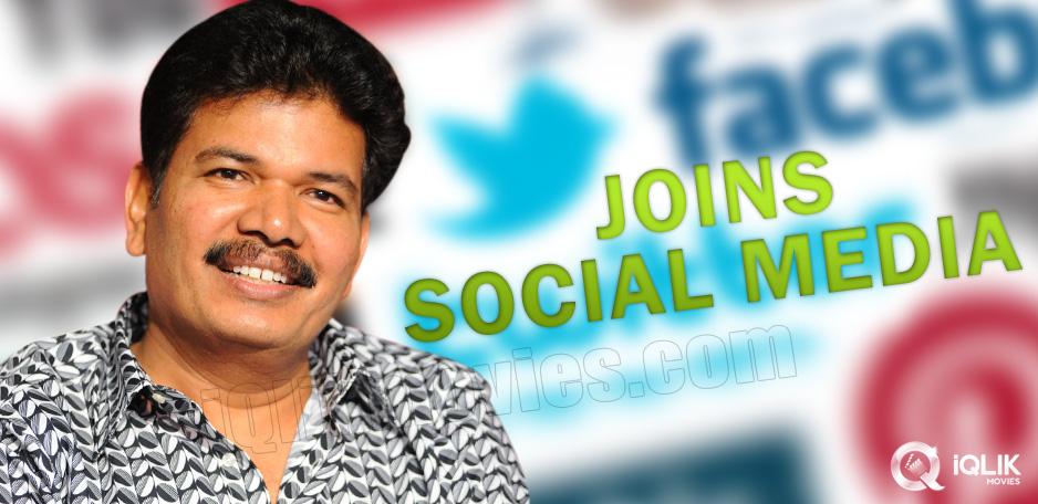 Director-Shankar-joins-Facebook-and-Twitter