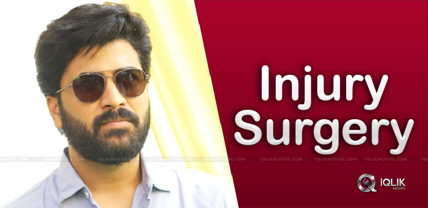 Sharwanand injured in Thailand